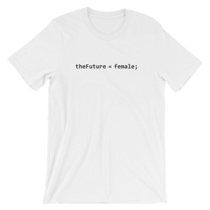 theFuture Equals Female T-Shirt White