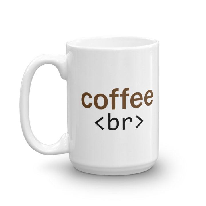Coffee Br Mug 15oz