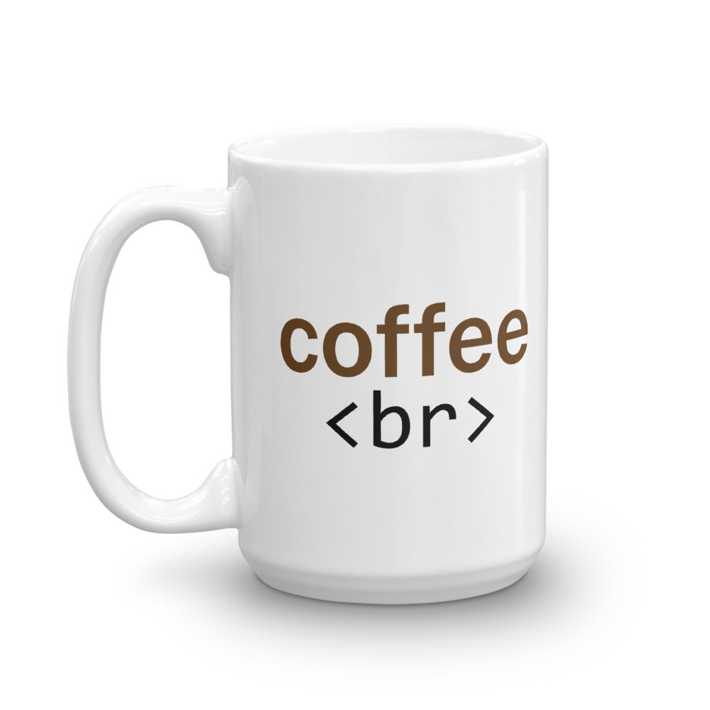 Coffee <Br> Mug 15oz