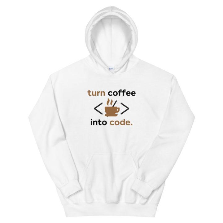 Coffee Into Code Hoodie
