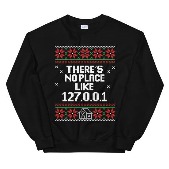 Localhost Christmas Sweatshirt
