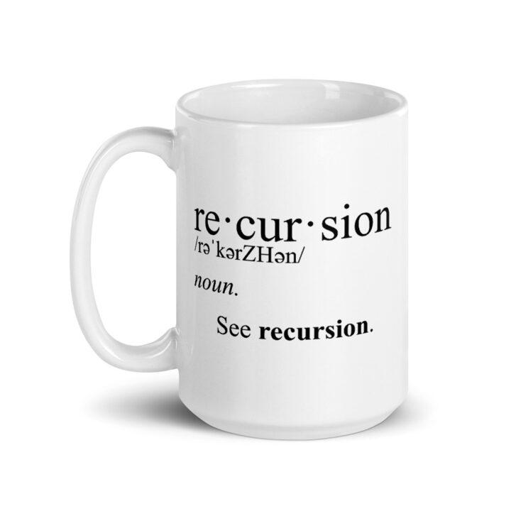 Recursion Definition Mug